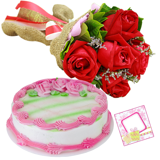 Red Roses Bunch Delivery Rourkela
