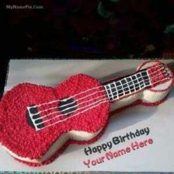 Guitar Cake Delivery Service in Bokaro